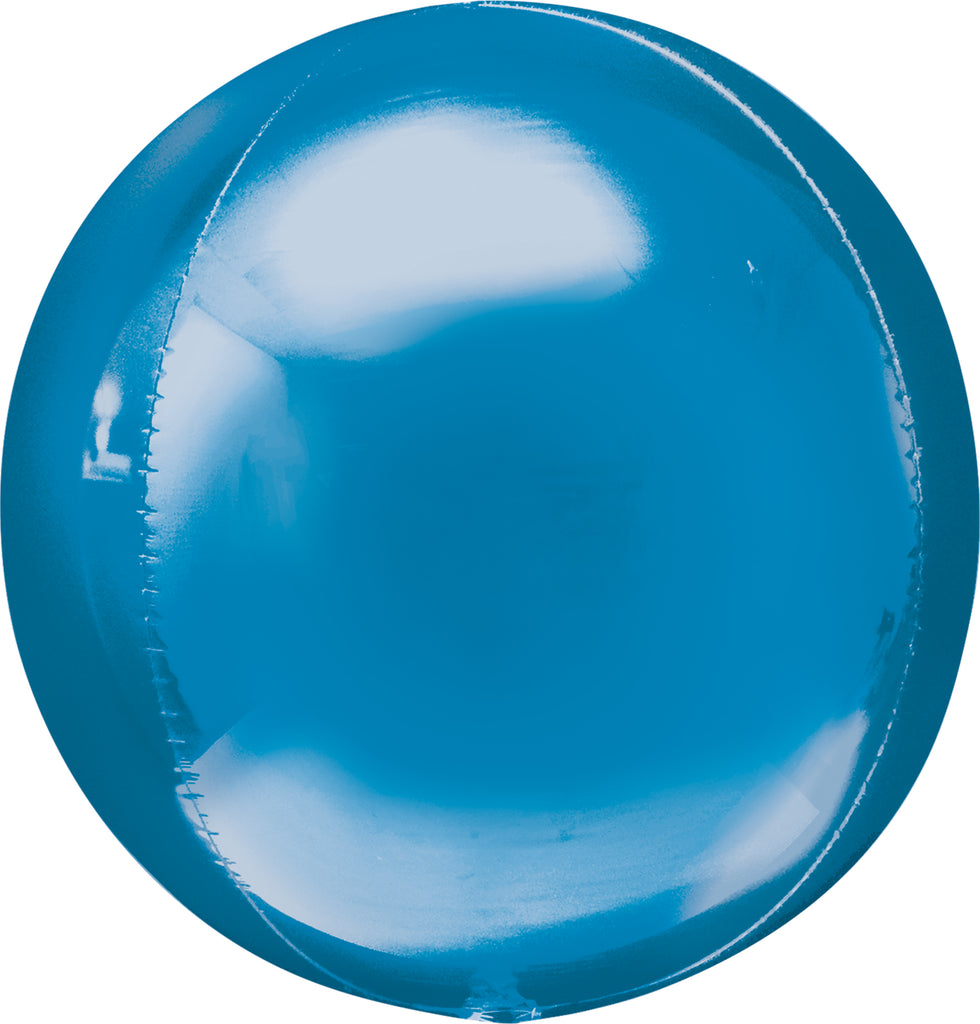 BLUE ORBZ BALLOON 17 X 18IN - House of Party Kenya