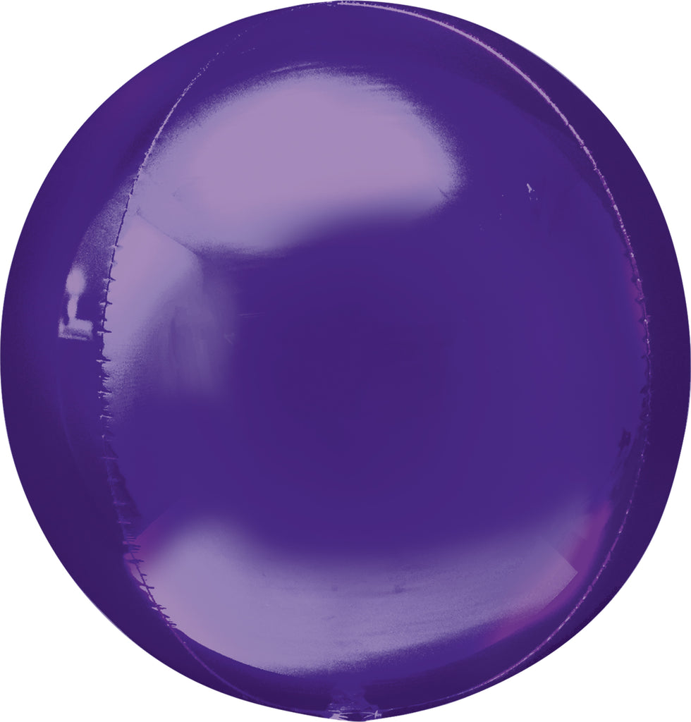 PURPLE ORBZ BALLOON 17 X 18IN - House of Party Kenya