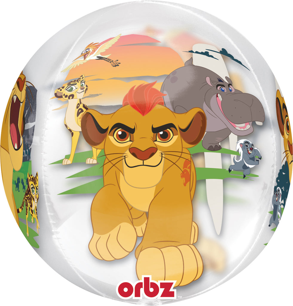 LION GUARD ORBZ FOIL BALLOON - House of Party Kenya