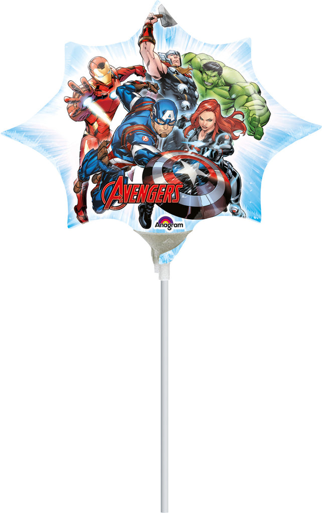 AVENGERS ANIMATED MINI SHAPE AIR-FILLED BALLOON - House of Party Kenya