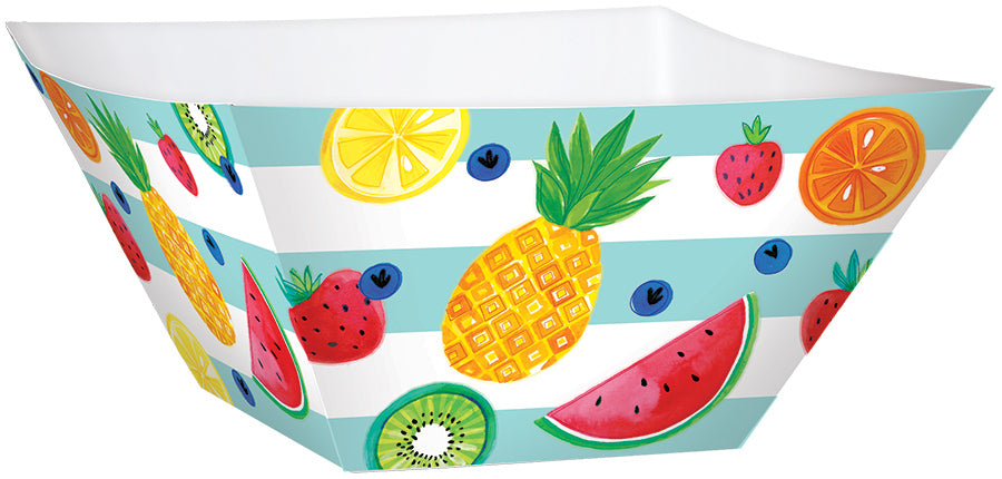 FRUIT PAPER LARGE SQUARE BOWLS, 3pcs - House of Party Kenya