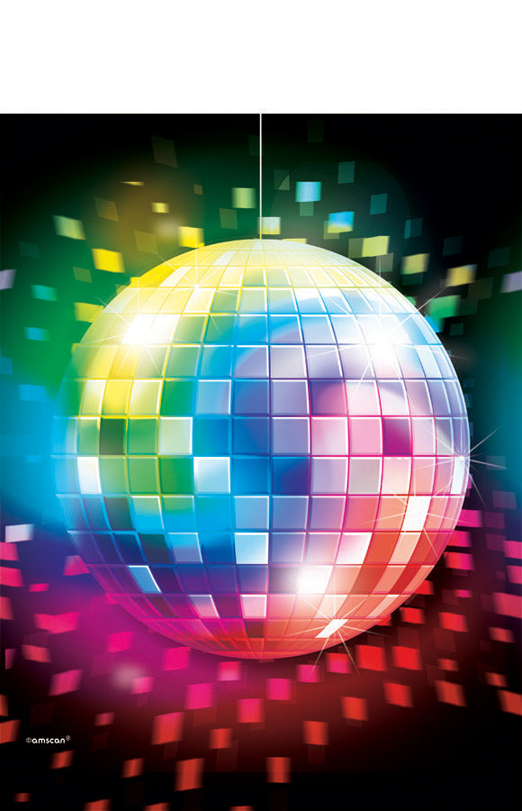 DISCO FEVER PLASTIC TABLE COVER - House of Party Kenya