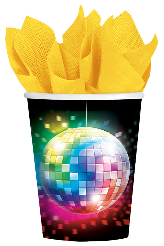 DISCO FEVER CUPS 9OZ, 8pcs - House of Party Kenya