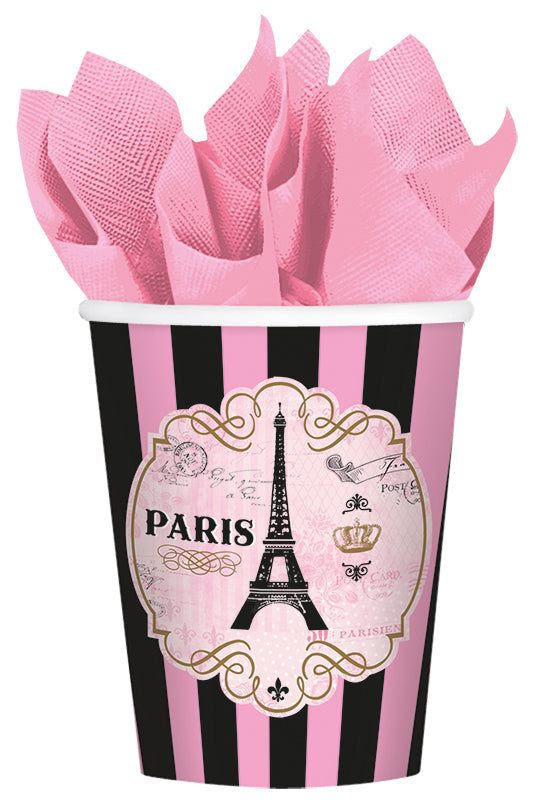 DAY IN PARIS LARGE PAPER CUPS - House of Party Kenya