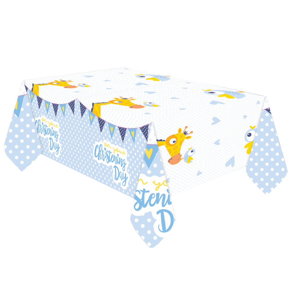 BLUE COMMUNION CHURCH PLASTIC TABLECOVER - House of Party Kenya