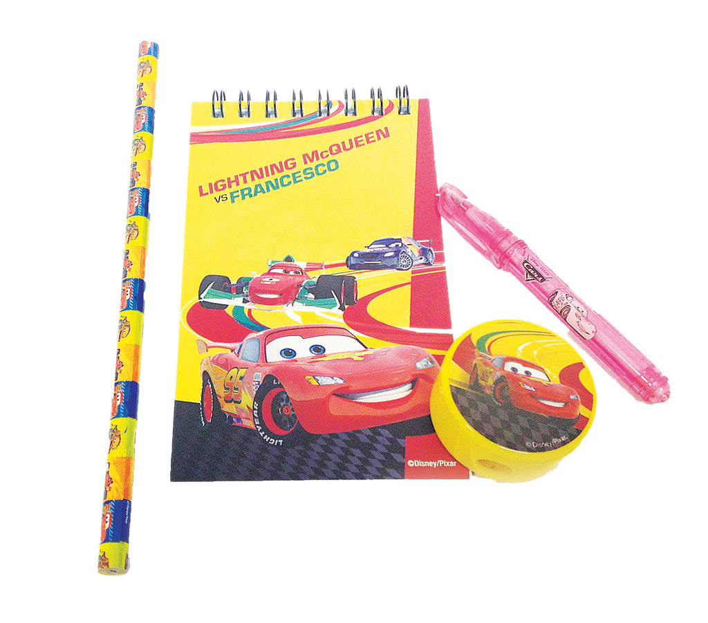 DISNEY CARS STATIONARY FAVOR PACK 20PCS - House of Party Kenya