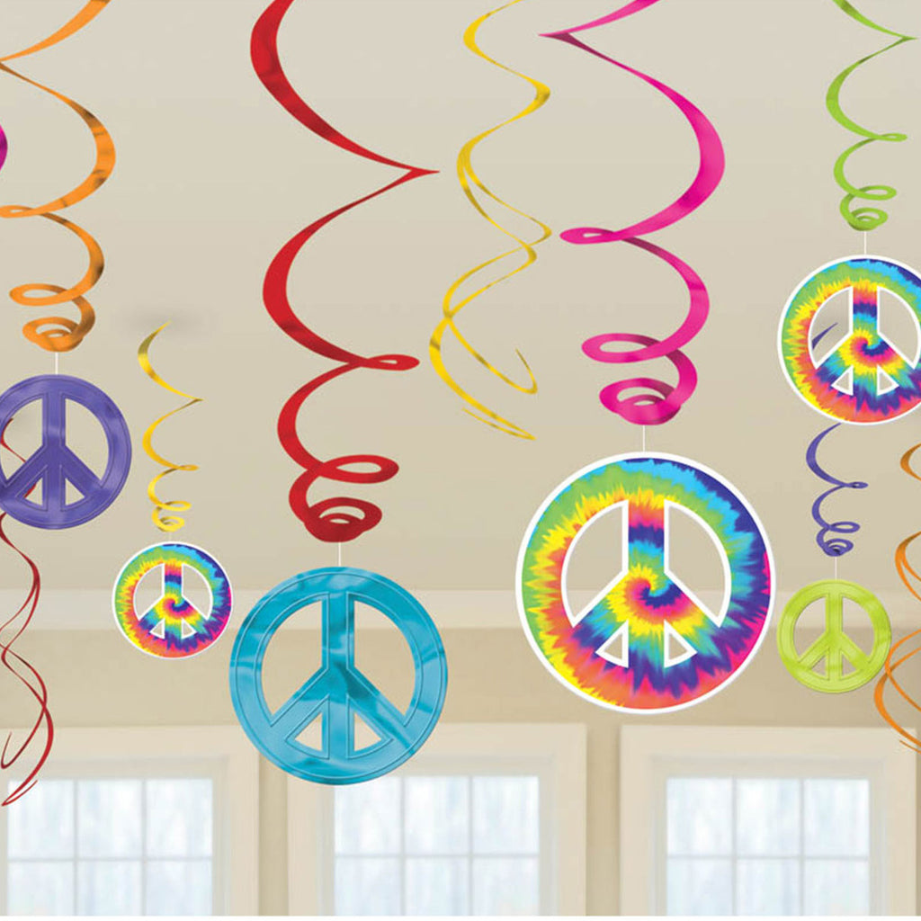 FEELING GROOVY SWIRL DECORATION - House of Party Kenya