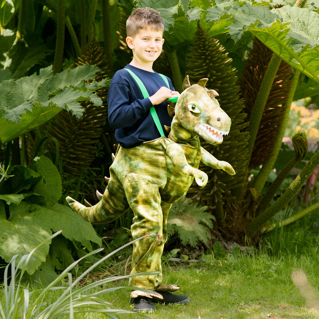 CHILD RIDE IN DINOSAUR COSTUME 6-8 YEARS - House of Party Kenya