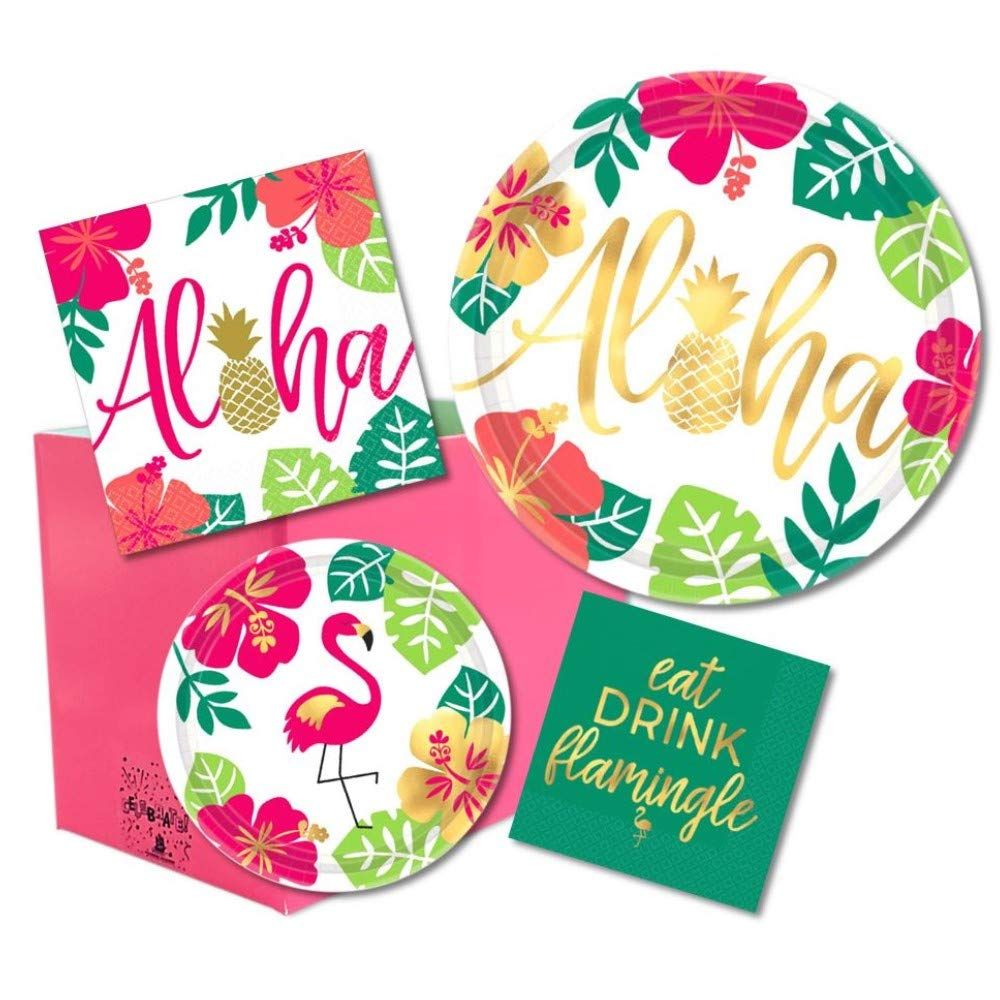 ALOHA BEVERAGE NAPKIN, 16pcs - House of Party Kenya