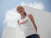 Addicted To Results Bold Racerback Tank Top