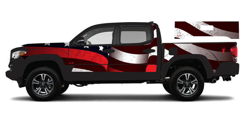Stars and Stripes - Toyota Tacoma Gen3 (2016+)