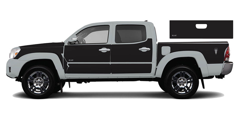 Black Set - Toyota Tacoma Gen2 (2005-2015)
