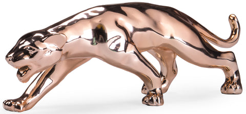 Jaguar Sculpture Rose Gold