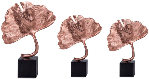 Clover Leaf Sculpture Bronze