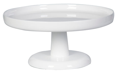 Pedestal Round Platter raised edge(S)