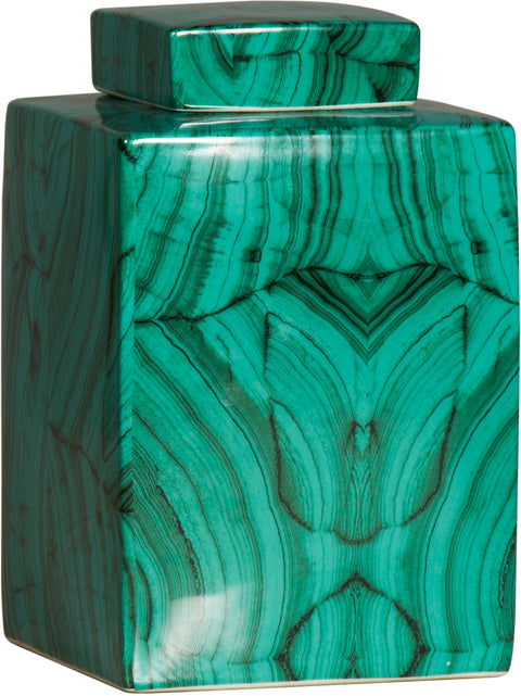 Malachite Jade Jar