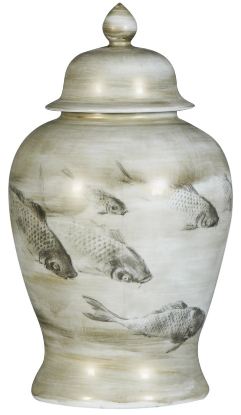 Pearl Fish Jar