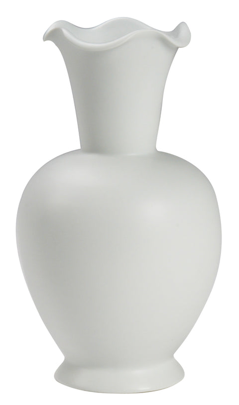 Chalky Flared Neck Vase