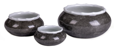 Shagreen Grey Bowl