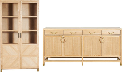 Herma 4 Door Sideboard and Cabinet