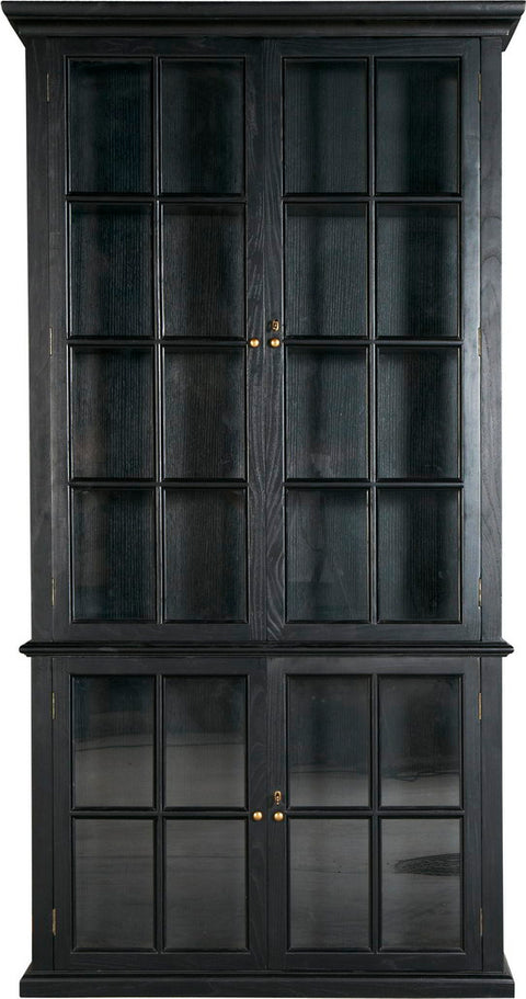 Antique Black 2 Door (L) Cabinet