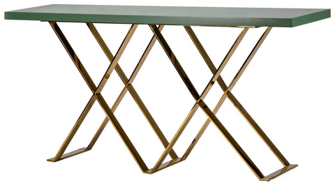 Caversham Console Gold Base