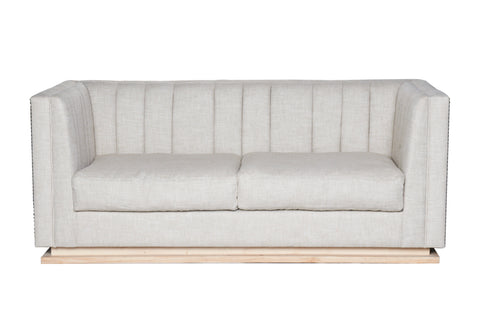 Dover Panelled Two Seater Sofa