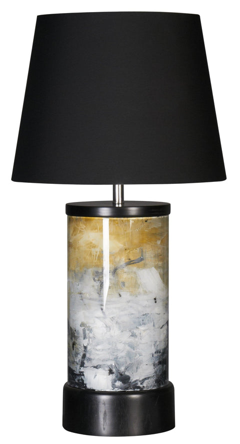 Stormy Black Gold Lamp
