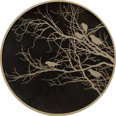 Round : branches and birds