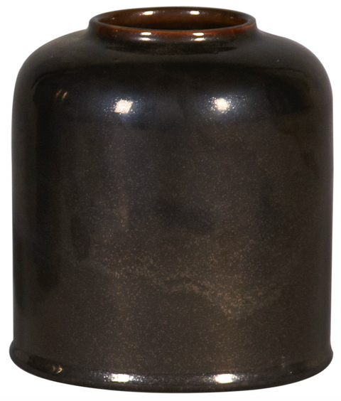 Antique Brown Slim Vase