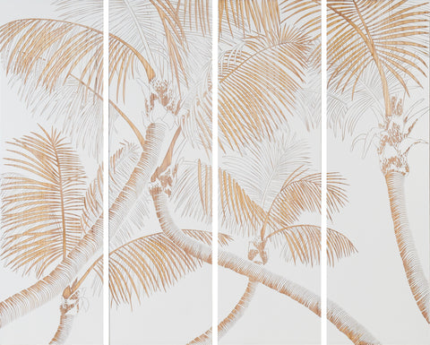 Pinnate Wall Panels (Choice of W or B background)