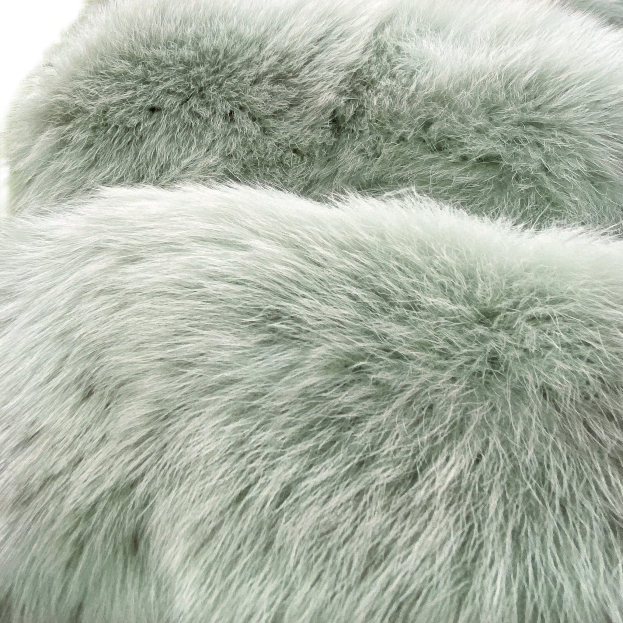 MINT CHIP luxe fur from Banana Lily
