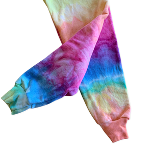 Rainbow Ice Dyed Crewneck Sweatshirt