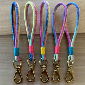 The Dyed Rope Keychain