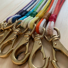 Load image into Gallery viewer, The Dip-Dyed Rope Keychain