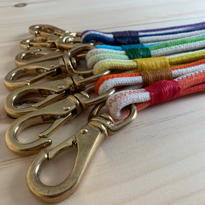 The Dip-Dyed Rope Keychain