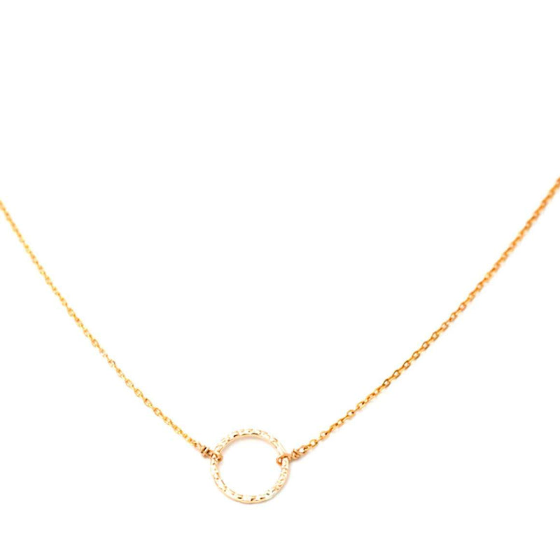 Cali Loop Gold Filled Necklace - Mint Pop Shop
