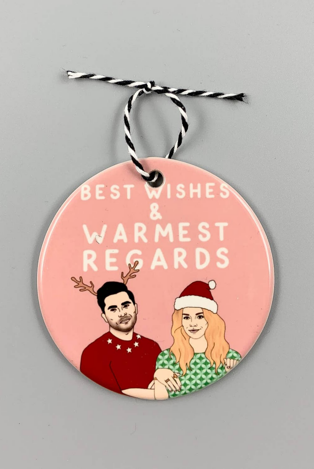 Schitt's Creek Christmas Ornament (PRE-ORDER)