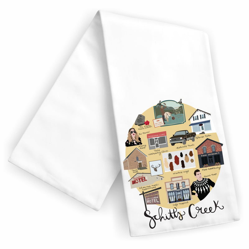 'Schitt's Creek' Tea Towel