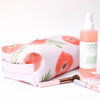 Poppies Makeup Travel Tote