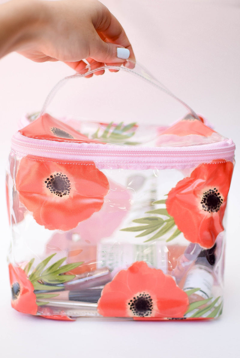 Poppies Makeup Travel Caddy