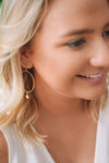 Starburst Hoop Earring - Gold - Mint Pop Shop
