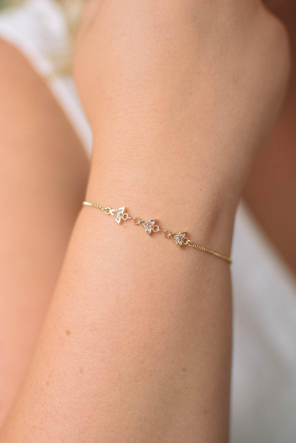 Golden Hour Slider Boho Bracelet - Mint Pop Shop