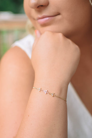 Three Wishes Star Bracelet