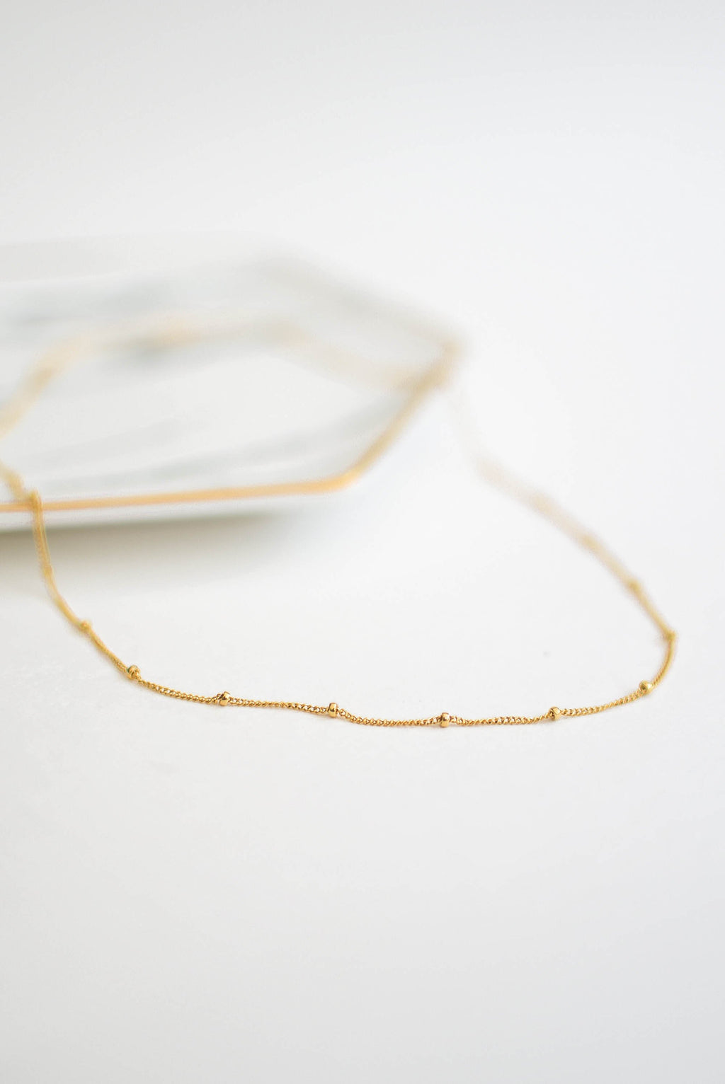 gold filled choker