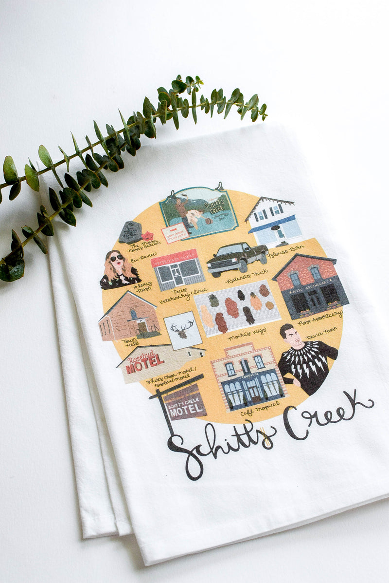 schitts creek towel