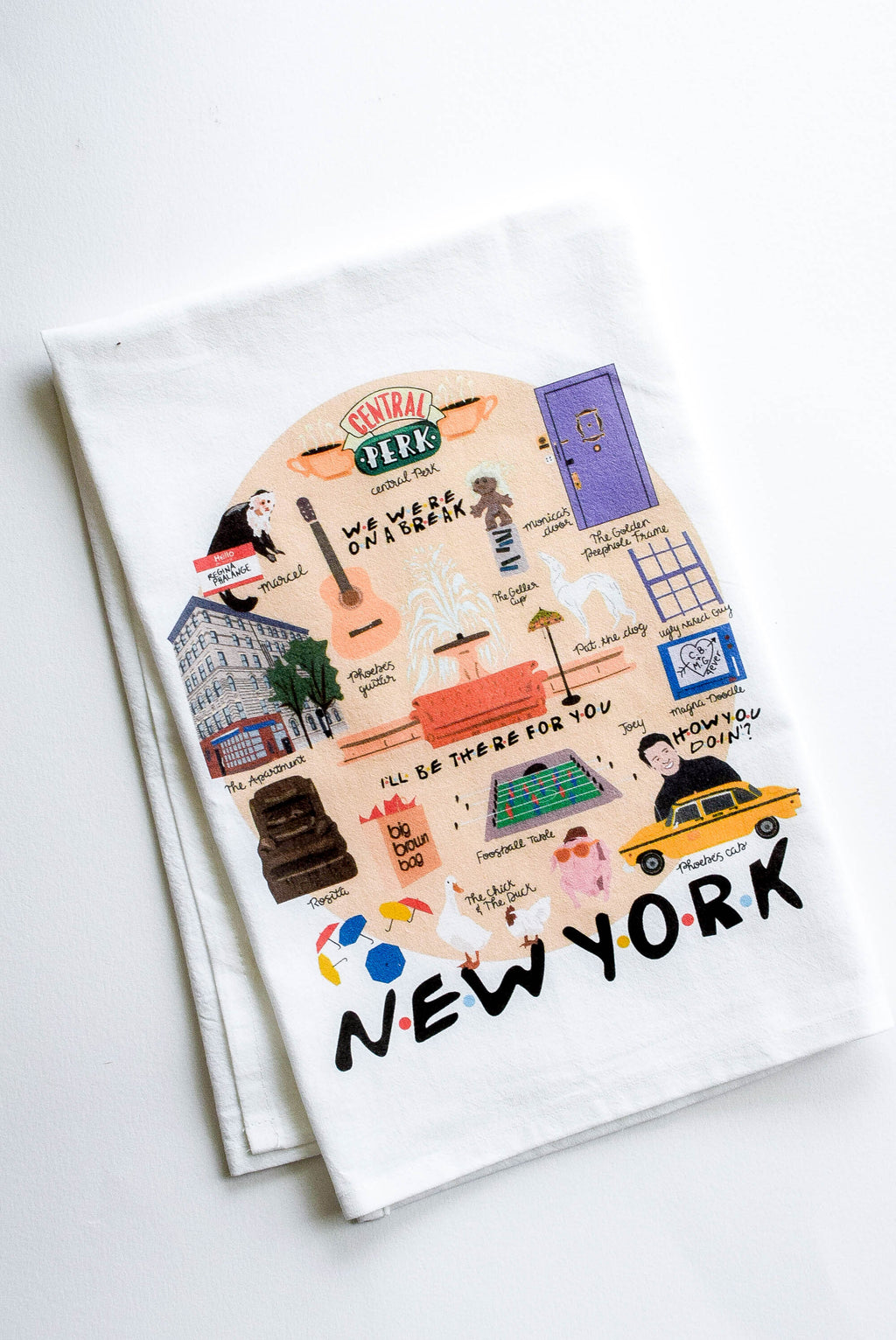 friends tea towel