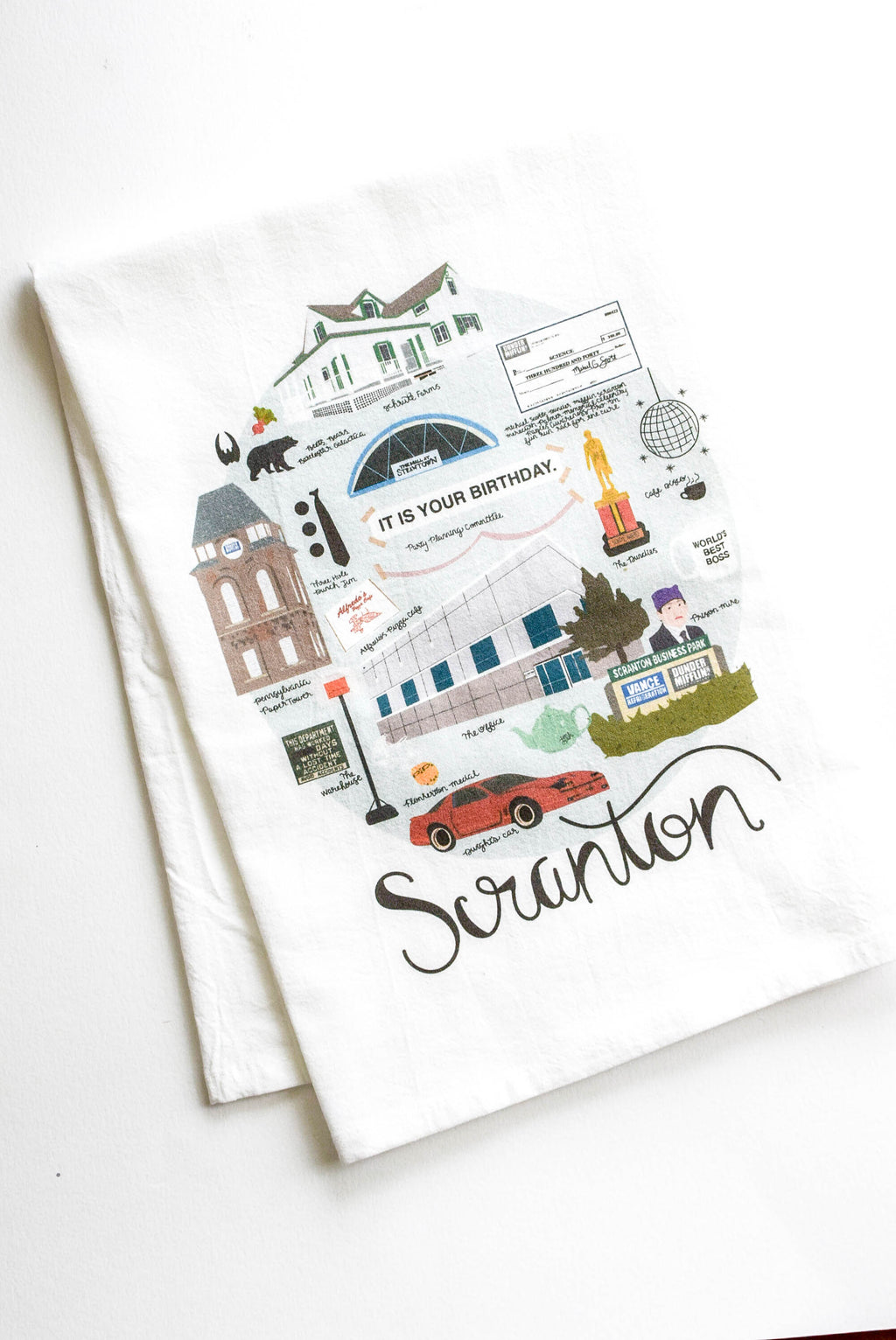 scranton the office towel