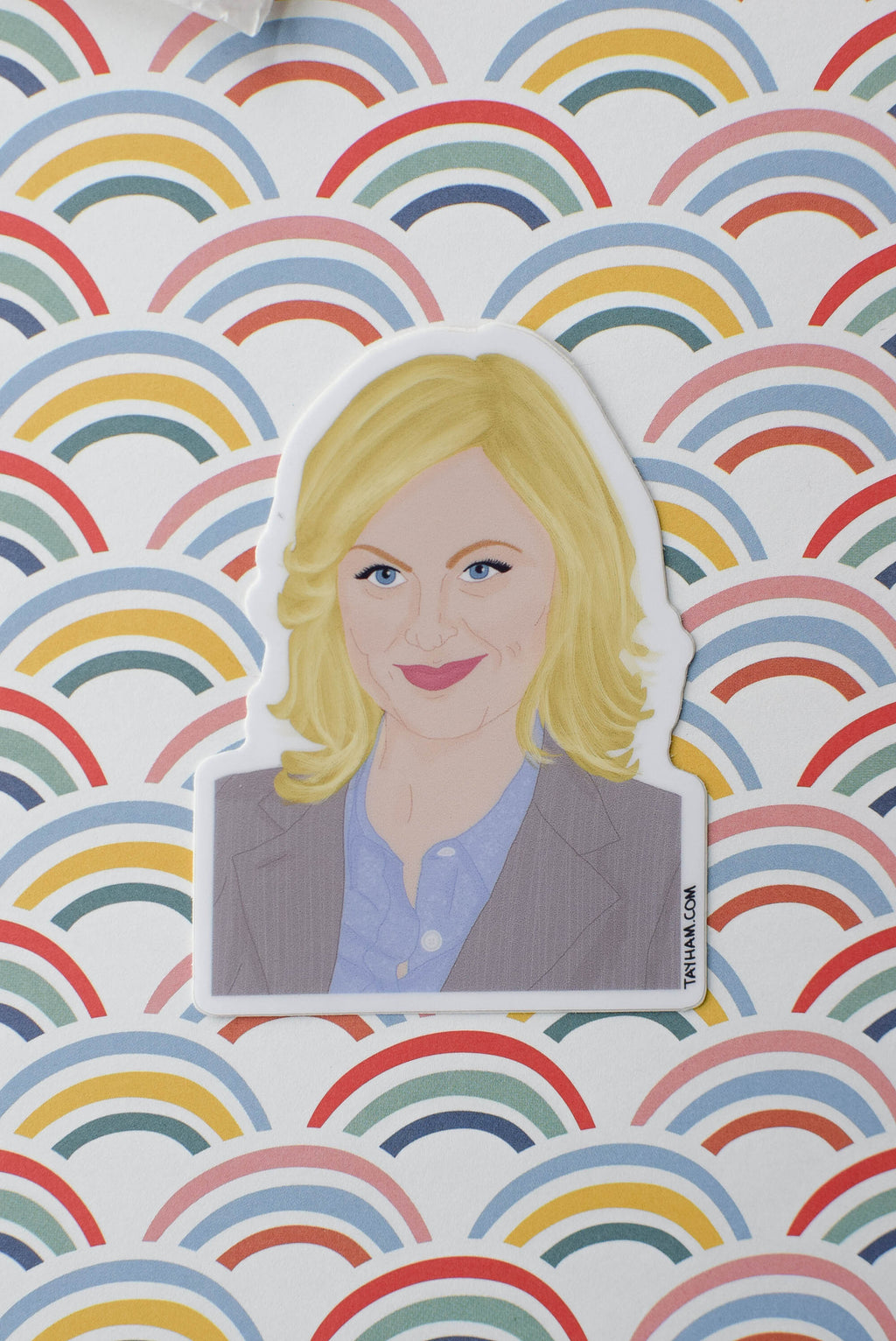 Leslie know sticker