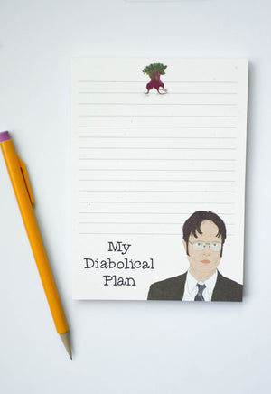 Dwight Shrute The Office Notepad